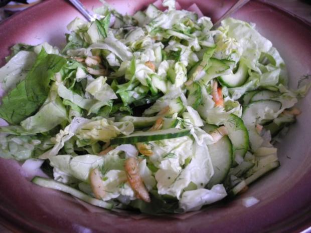Pfiffiger Salat - warum nicht mal so - Rezept - Bild Nr. 3