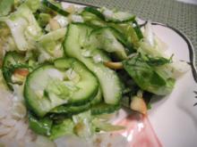 Pfiffiger Salat - warum nicht mal so - Rezept
