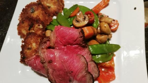 Roastbeef mit Senf-Meerettichkruste - Rezept - Bild Nr. 2