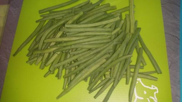 Putenunterkeulen mit frischen Delikatessbohnen - Rezept - Bild Nr. 2