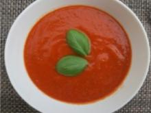 pikante Tomatensuppe - alla Caprese - Rezept - Bild Nr. 3