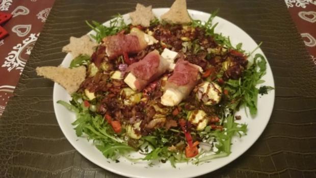 feiner abendsalat - Rezept