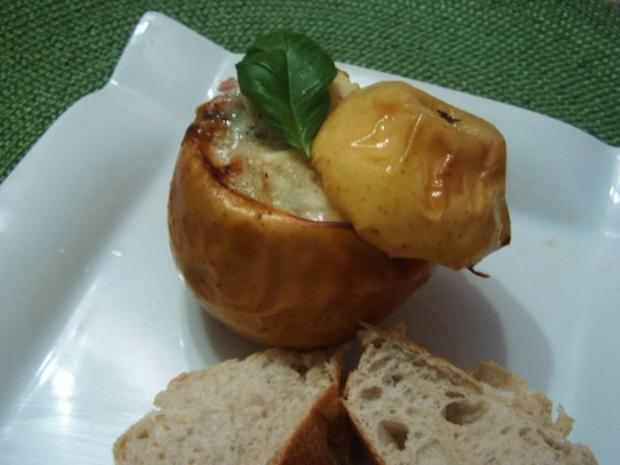Pikante Bratäpfel - Rezept