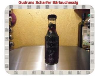 Essig: Scharfer Bärlauchessig - Rezept