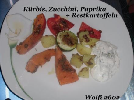 Gemüse : Kürbis im Backofen vom Feinsten und super Würzig - Rezept