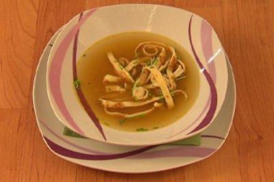 Frittatensuppe (Alexander Sholti) - Rezept