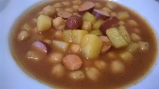 Kichererbsen - Kartoffel - Eintopf - Rezept