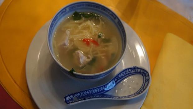 Asiatische Nudelsuppe - Rezept