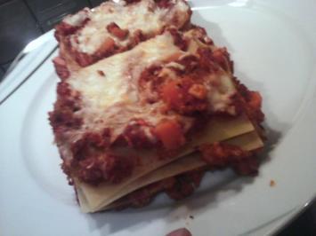 vegetarische Lasagne - Rezept