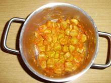 Currywurst-Töpfchen - Rezept