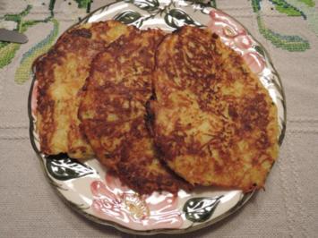 Rezept: Kartoffel - Lauch - Röstis
