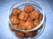 Hackbällchen mit Krebsfleisch - Rezept