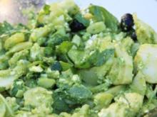 Kartoffelsalat mit Rucolapesto - Rezept