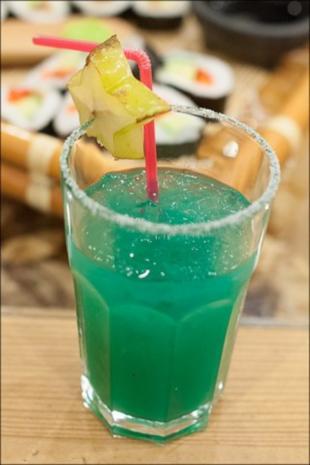 Blue Lotus, Begrüßungscocktail - Rezept