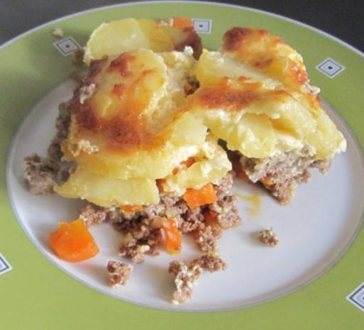 Rezept Kartoffel Hackfleisch kartoffel hack auflauf rezept mit bild kochbar de