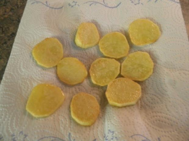 Karotten - Orangen - Mousse, Steckrüben - Apfel - Creme und karamellisierte Kartoffelchips - Rezept - Bild Nr. 9