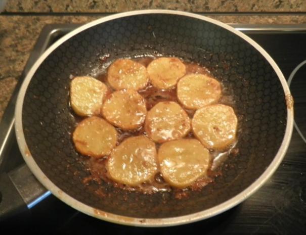 Karotten - Orangen - Mousse, Steckrüben - Apfel - Creme und karamellisierte Kartoffelchips - Rezept - Bild Nr. 11