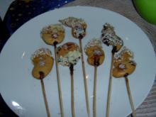Rudimental Cake Pops oder Kekssticks - Rezept