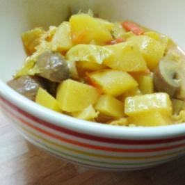 Kartoffel-Wirsing-Curry - Rezept