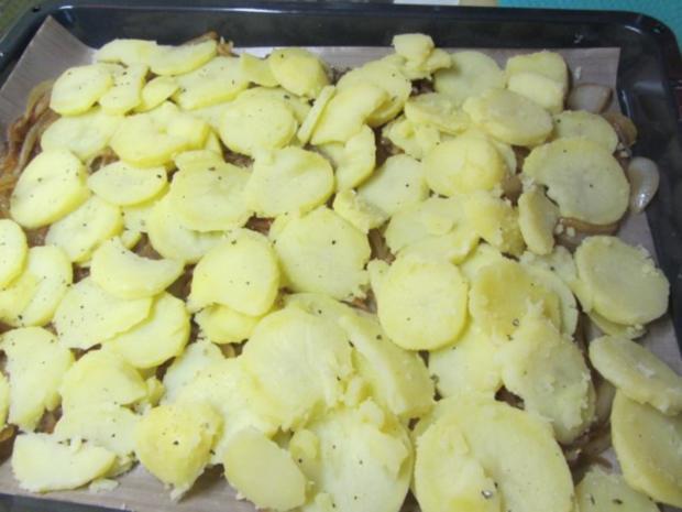 Forelle im Zwiebel-Tomatenbett - Rezept - Bild Nr. 2