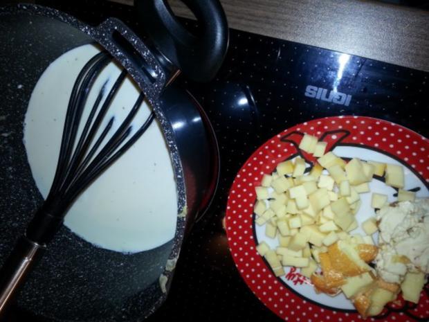 Handgeschabte Spätzle in Käsesoße - Rezept - Bild Nr. 5