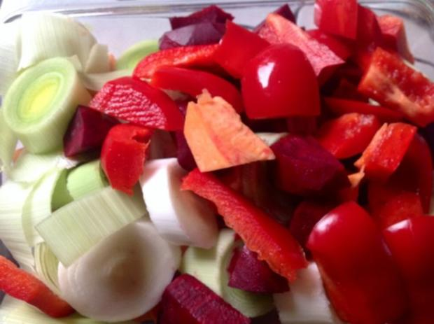 Polenta mit Gemüse aus dem Bratschlauch - Rezept - Bild Nr. 13