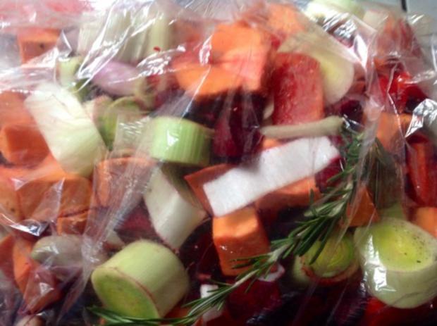 Polenta mit Gemüse aus dem Bratschlauch - Rezept - Bild Nr. 14