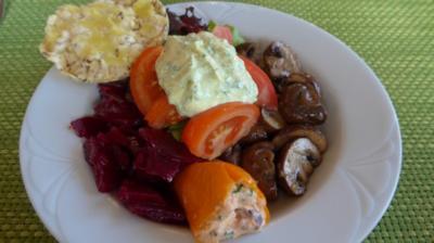Bunter Salat-Teller - Rezept