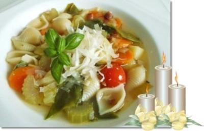 Winter Minestrone für 3. Advent - Rezept