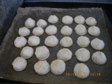 Kokosmakronen und Nußmakronen - Rezept