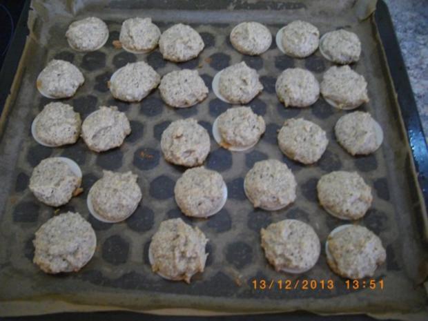 Kokosmakronen und Nußmakronen - Rezept - Bild Nr. 2