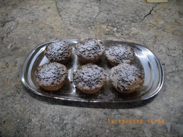 Nuß Kokos Muffins mit Nugat gefüllt - Rezept - Bild Nr. 3
