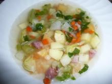 Pfälzische Winter - Gemüsesuppe ! ! - Rezept