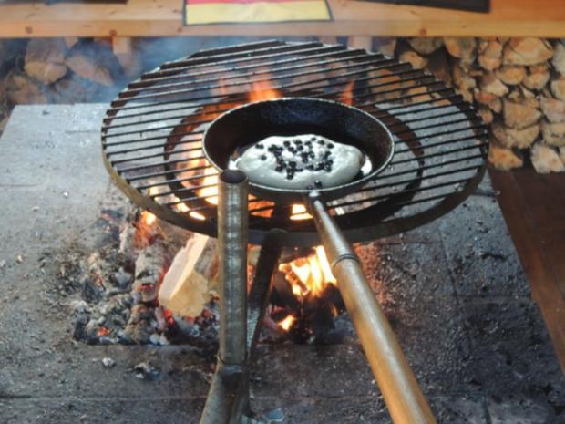Blaubeer - Pfannkuchen - Rezept