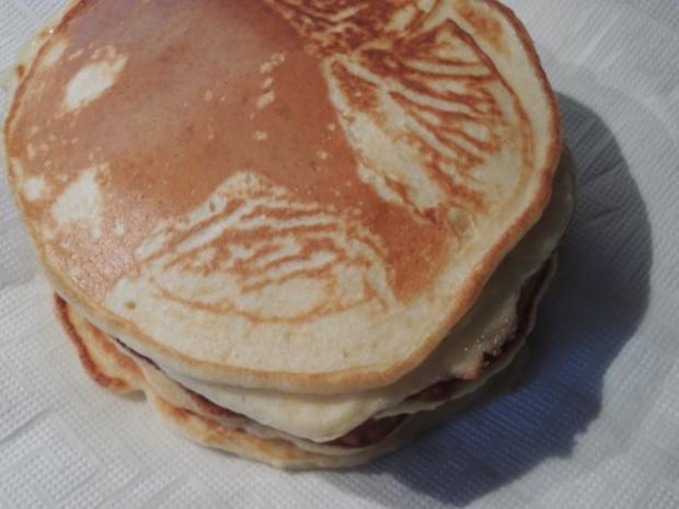 Blaubeer - Pfannkuchen - Rezept - Bild Nr. 5