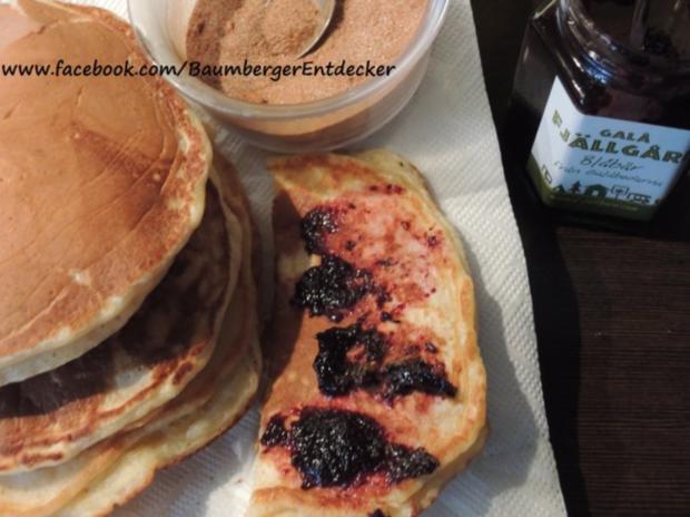 Blaubeer - Pfannkuchen - Rezept - Bild Nr. 7