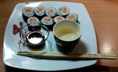 Sushi Futomaki - Rezept