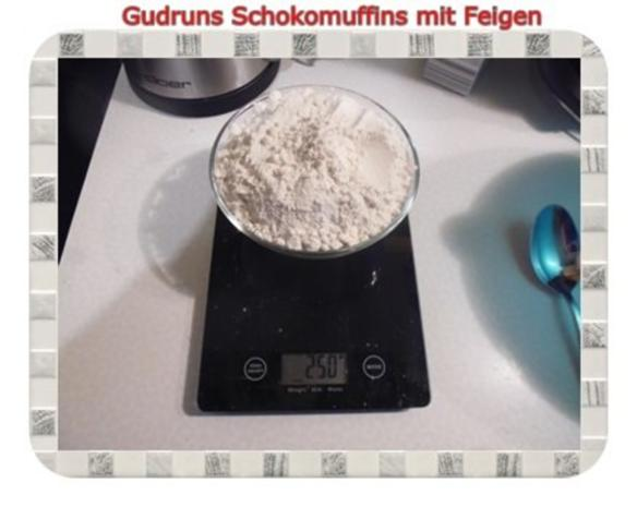 Muffins: Schokomuffins mit Feigen - Rezept - Bild Nr. 3