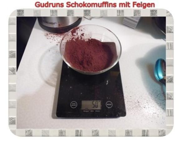 Muffins: Schokomuffins mit Feigen - Rezept - Bild Nr. 5