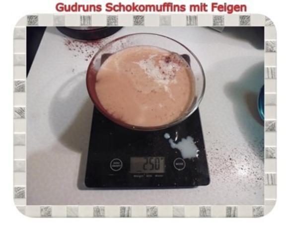 Muffins: Schokomuffins mit Feigen - Rezept - Bild Nr. 6