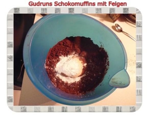 Muffins: Schokomuffins mit Feigen - Rezept - Bild Nr. 8
