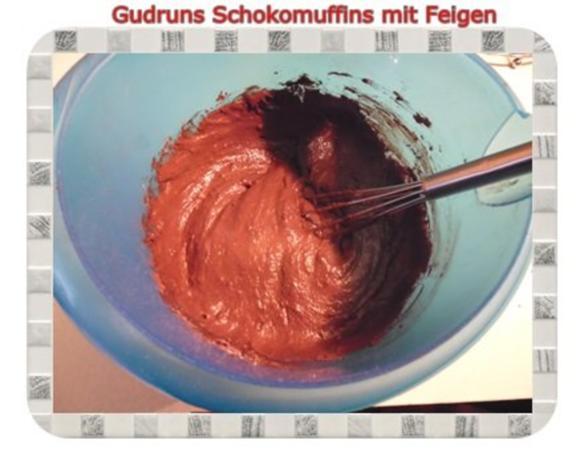 Muffins: Schokomuffins mit Feigen - Rezept - Bild Nr. 9