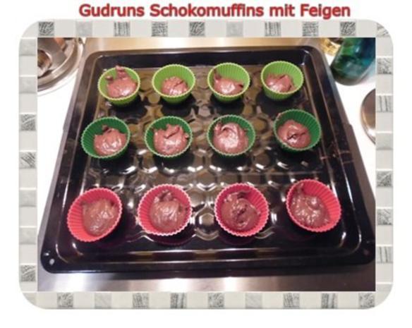 Muffins: Schokomuffins mit Feigen - Rezept - Bild Nr. 10
