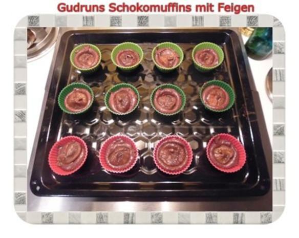 Muffins: Schokomuffins mit Feigen - Rezept - Bild Nr. 11