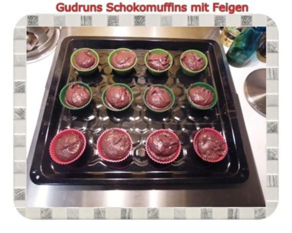 Muffins: Schokomuffins mit Feigen - Rezept - Bild Nr. 12
