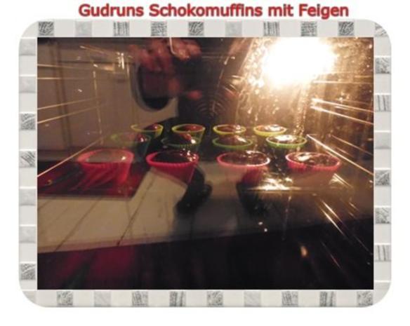 Muffins: Schokomuffins mit Feigen - Rezept - Bild Nr. 13