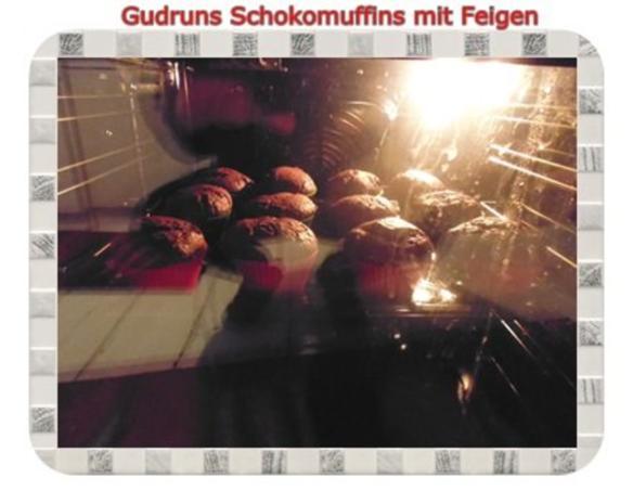 Muffins: Schokomuffins mit Feigen - Rezept - Bild Nr. 14