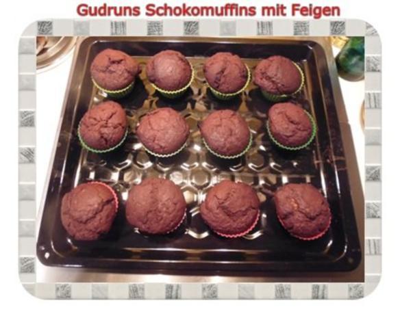 Muffins: Schokomuffins mit Feigen - Rezept - Bild Nr. 15