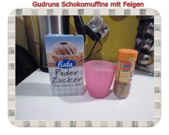 Muffins: Schokomuffins mit Feigen - Rezept - Bild Nr. 16