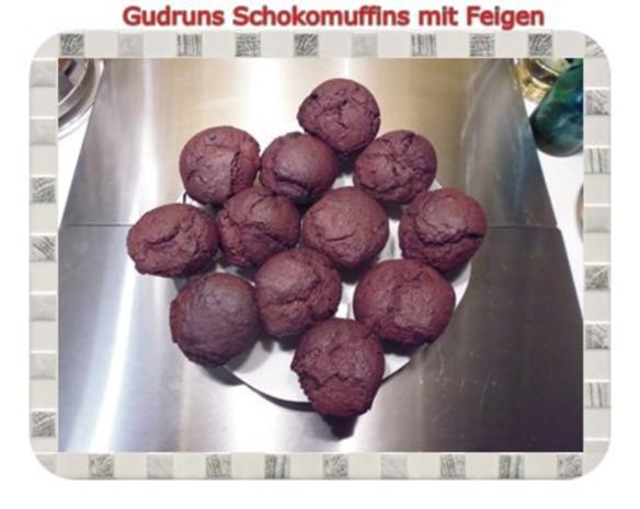 Muffins: Schokomuffins mit Feigen - Rezept - Bild Nr. 17